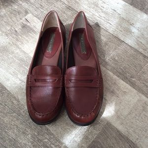 Banana Republic Leather Loafers Size 9